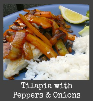 tilapia peppers onions title