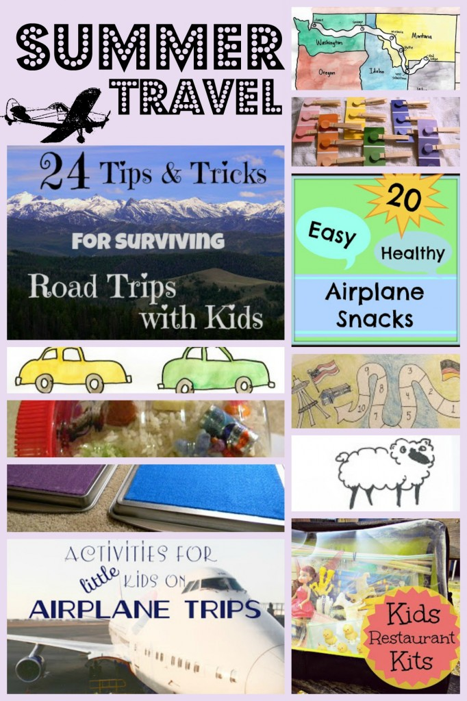 summer travel roundup Collage