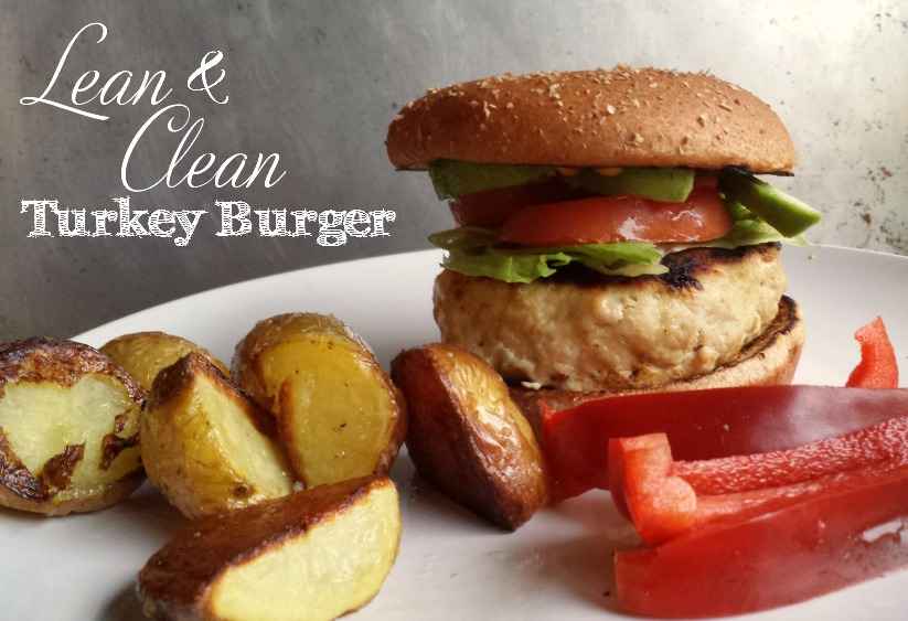 lean and clean turkey burger
