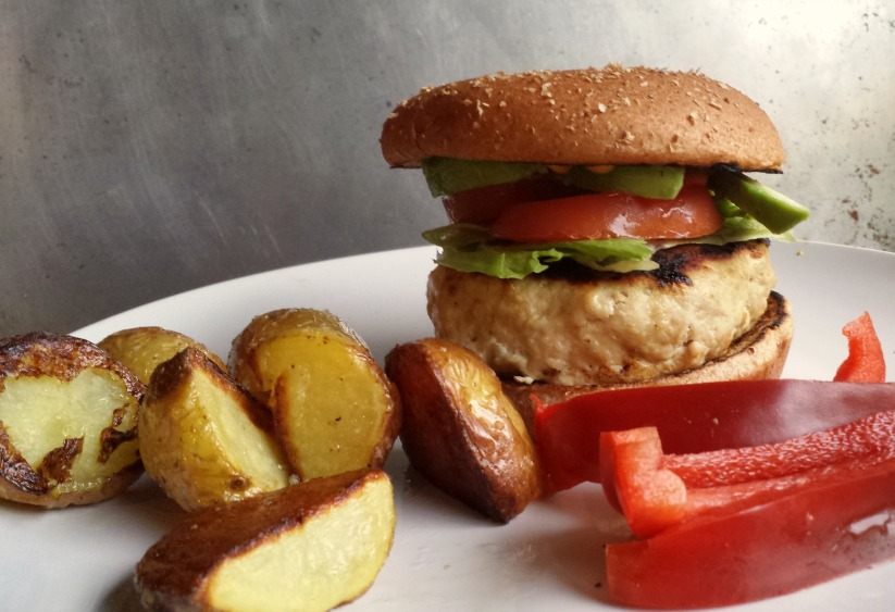 lean and clean turkey burger with recipe